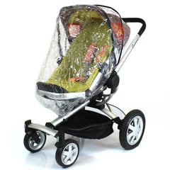 New Rain Cover To Fit Obaby Zynergy, Zezu Stroller Pram - Baby Travel UK  - 1