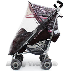 Rain Cover For Maclaren Juicy Couture - Baby Travel UK  - 3