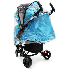 iSafe Visual 3 Rain Cover Stroller three Wheeler Raincover - Baby Travel UK  - 3