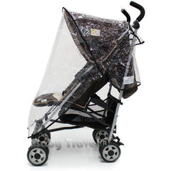 Rain Cover to fit Koochi Sneaker Stroller (Mix Magenta) - Baby Travel UK  - 4