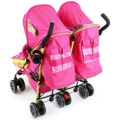 iSafe TWIN OPTIMUM Stroller Mea LUX + Matching Changing Bag - Baby Travel UK  - 11