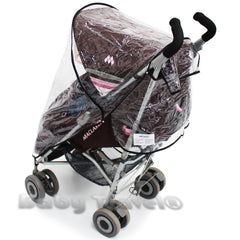 Rain Cover For Maclaren Techno Xlr Stroller - Baby Travel UK  - 5