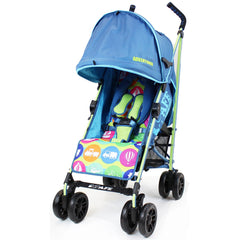 iSafe buggy Stroller Pushchair - Adventurer (Complete With Footmuff, Changing Bag, Bumper Bar & Rain cover) - Baby Travel UK  - 4