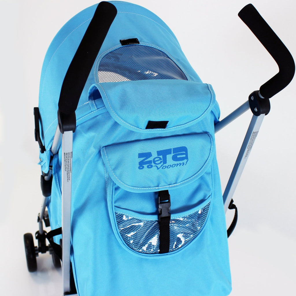 Zeta Vooom Ocean (complete Plain) Padded Footmuff Liner Stroller Pushchair - Baby Travel UK  - 6