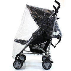 Universal Raincover Silver Cross Pop Pushchair Buggy Ventilated Top Quality - Baby Travel UK  - 2