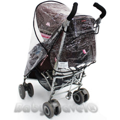 Rain Cover For Maclaren Techno Xlr Stroller - Baby Travel UK  - 6