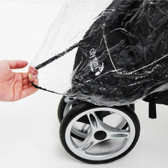 Baby Jogger City Mini Single Raincover - Baby Travel UK  - 12