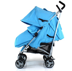 New Zeta Vooom Ocean (complete Plain) Padded Footmuff Liner Stroller Pushchair - Baby Travel UK  - 6