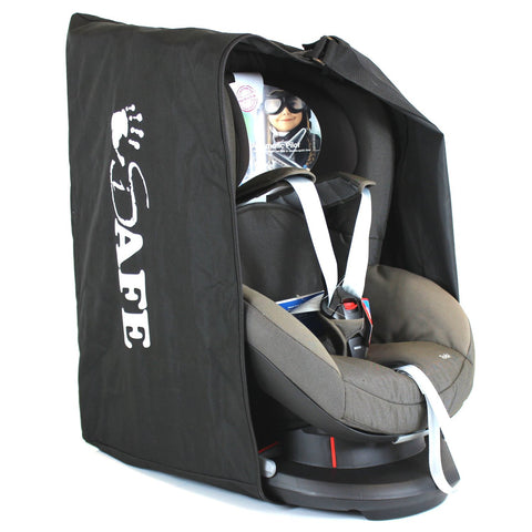 iSafe Universal Carseat Travel / Storage Bag For Britax Max-Way Car Seat (Black Thunder)