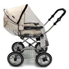 Rain Cover For Babystyle Lux Carrycot - Baby Travel UK  - 3