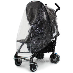 Rain Cover to Fit  My Child Nimbus Stroller ( Blue and  Pink ) - Baby Travel UK  - 1