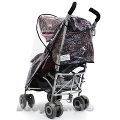 Rain Cover For Maclaren Techno Xlr Stroller - Baby Travel UK  - 7