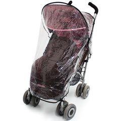 Rain Cover For Maclaren Juicy Couture - Baby Travel UK  - 2