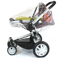 Universal Raincover To Fit Quinny Buzz Pushchair Pram - Baby Travel UK  - 2