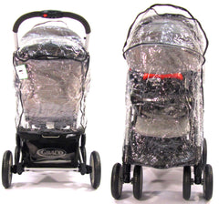 Travel System Zipped Rain Cover For Hauck Shopper 6 - Baby Travel UK  - 2