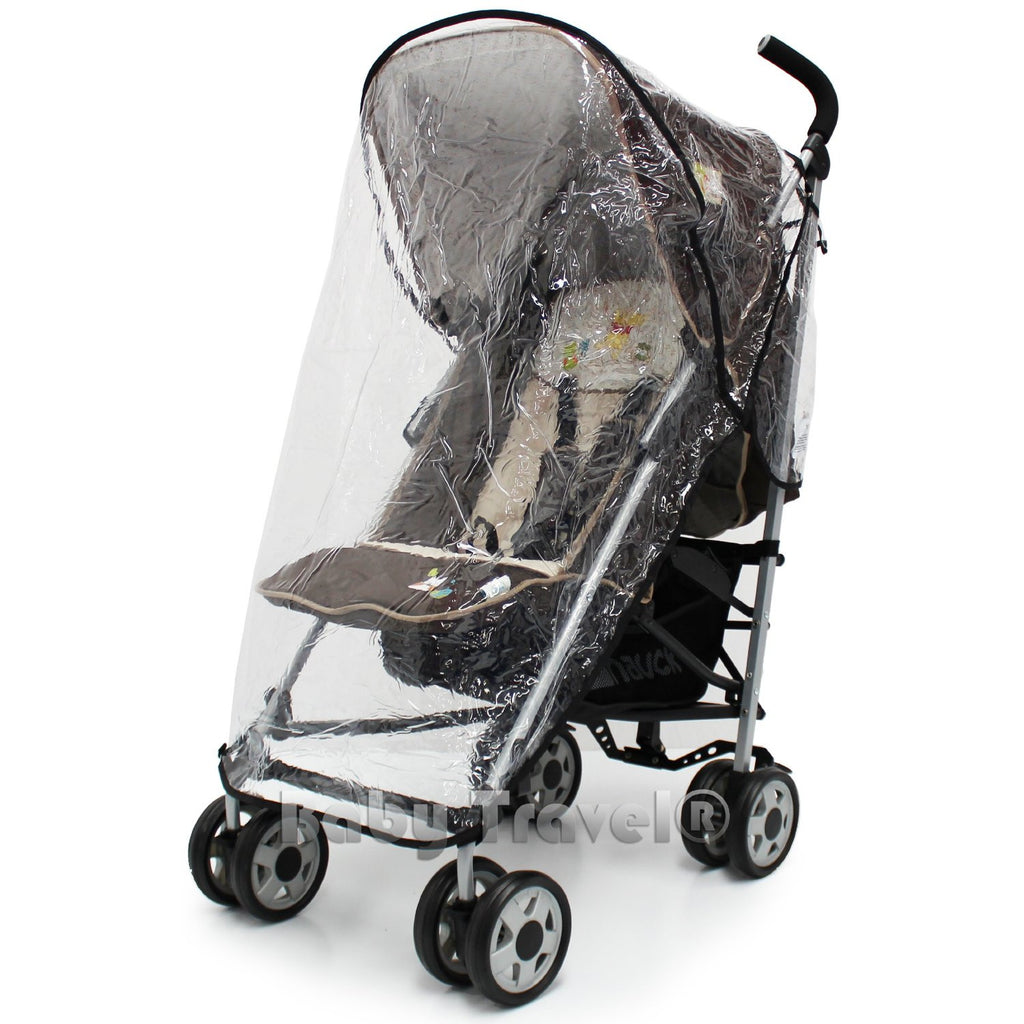 Rain Cover For Hauck Turbo & Disney Stroller - Baby Travel UK  - 1