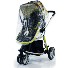Universal Raincover For Silver Cross Sleepover Pushchair Pram Ventilated New - Baby Travel UK  - 1