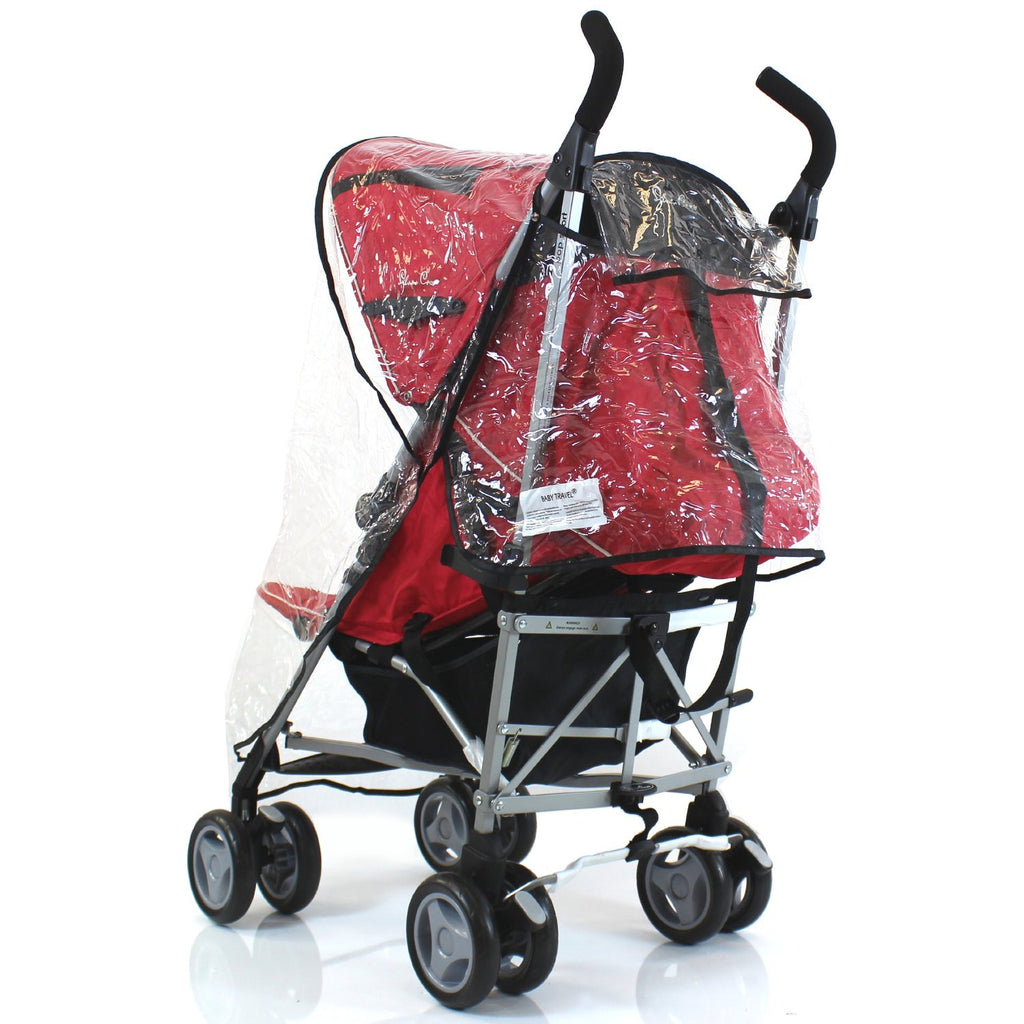 Universal Raincover Silver Cross Pop Pushchair Buggy Ventilated Top Quality - Baby Travel UK  - 1