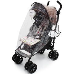 Rain Cover to fit Koochi Leap Stroller - Baby Travel UK  - 1