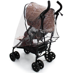 Rain Cover to fit Koochi Leap Stroller - Baby Travel UK  - 2