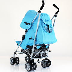 Zeta Vooom Ocean (complete Plain) Padded Footmuff Liner Stroller Pushchair - Baby Travel UK  - 7
