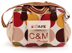 iSafe Changing Bag Luxury Quality - C&M (Design) Designer Baby Nappy Bag - Baby Travel UK  - 2