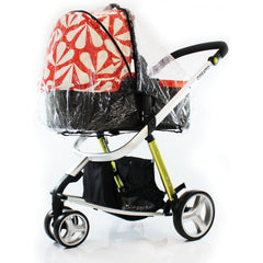 Universal Raincover For Silver Cross Sleepover Pushchair Pram Ventilated New - Baby Travel UK  - 4