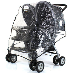Raincover To Fit maclaren twin techno double buggy - Baby Travel UK