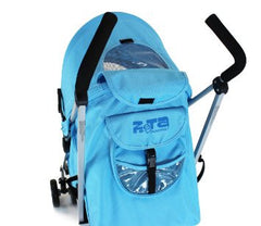 Zeta Vooom - Ocean Blue With Large Footmuff - Baby Travel UK  - 8