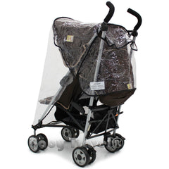 Rain Cover For Hauck Turbo & Disney Stroller - Baby Travel UK  - 2