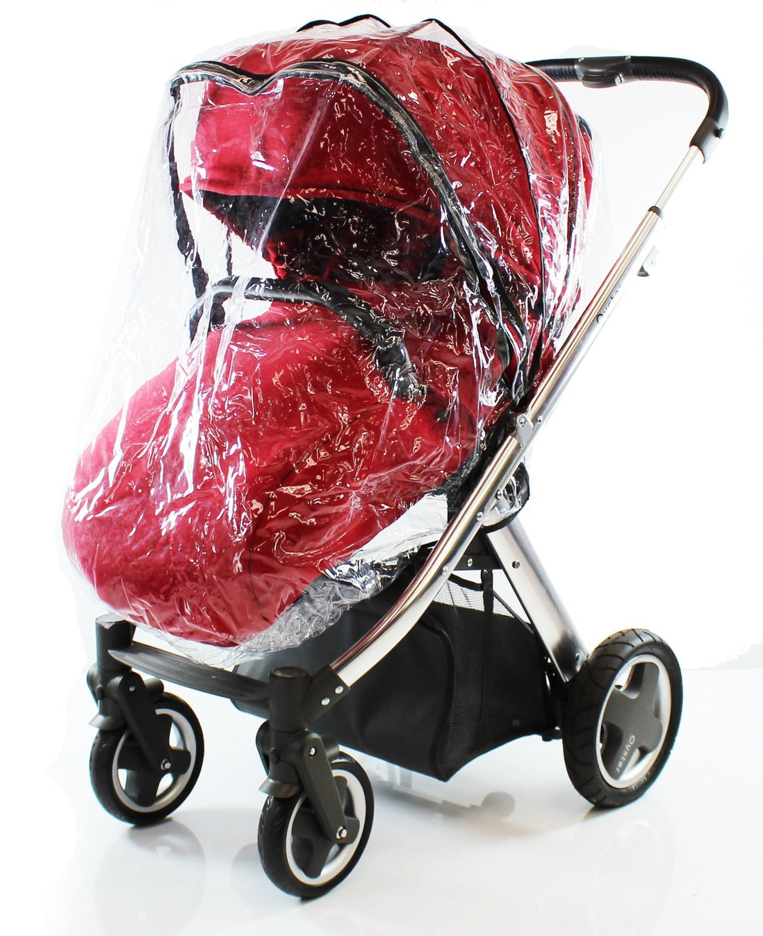 Universal Raincover For Britax Affinity B Smart Dual Pushchair Ventilated