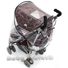Rain Cover For Maclaren Juicy Couture - Baby Travel UK  - 4