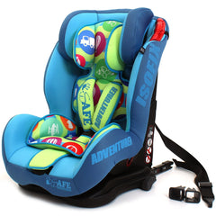 iSafe Isofix Duo Trio Plus Isofix  Top Tether Car Seat Carseat Adventurer - Baby Travel UK  - 3