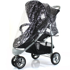 Rain Cover For Quinny Zapp Raincover Stroller Buggy Baby Travel High Quality - Baby Travel UK  - 2
