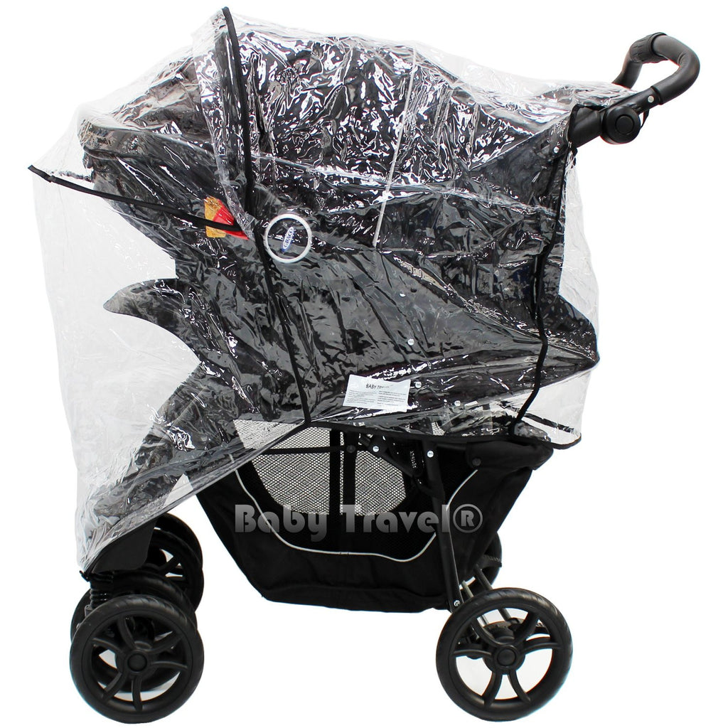 Raincover For Graco Passage Travel System - Baby Travel UK  - 1