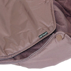 Footmuff Hot Chocolate Brown Fits Car Seat Mode On Bugaboo Bee Camelon - Baby Travel UK  - 9