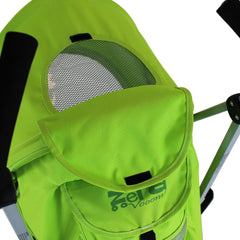 Baby Stroller Zeta Vooom Hearts And Stars Design Complete Lime - Baby Travel UK  - 3