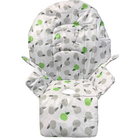 Replacement High Chair Fabric for My Babiie Highchair - Apples Design