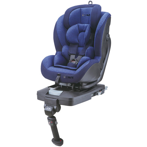 2018 iSafe Aurora iSOFIX Carseat Group 0+1 Navy