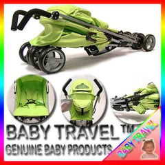 Pushchair Buggy Lightweight From Birth Rain Cover Stroller Pram Designer Baby - Baby Travel UK  - 9