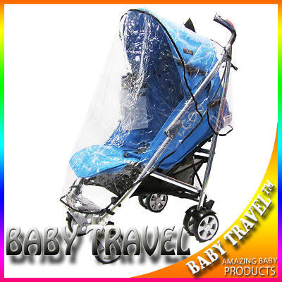 Rain Cover Fit Hauck Icoo Pluto Pushchair Stroller - Baby Travel UK
