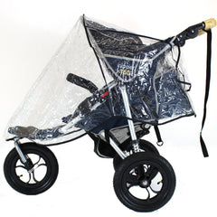 Universal 3 Wheeler Raincover For Urban Detour Glacier - Baby Travel UK  - 1