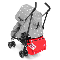 Baby Travel Zeta Changing Bag - Red Dots - Baby Travel UK  - 3