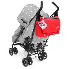 Baby Travel Zeta Changing Bag - Red Dots - Baby Travel UK  - 2
