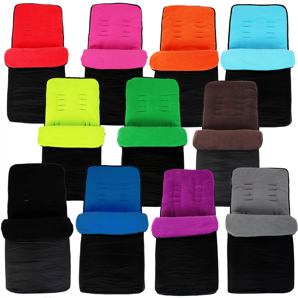 Universal Super Soft Footmuff For Graco Cosy Toes Buggy Pushchair - Baby Travel UK  - 1