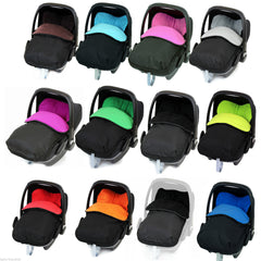 Universal Car Seat Footmuff/cosy Toes Silver Cross Car Seat Newborn Boy Girl New - Baby Travel UK  - 1
