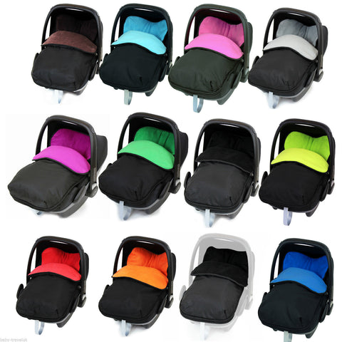 Universal Car Seat Footmuff/cosy Toes Jane Newborn Carseat Baby Boy Girl New