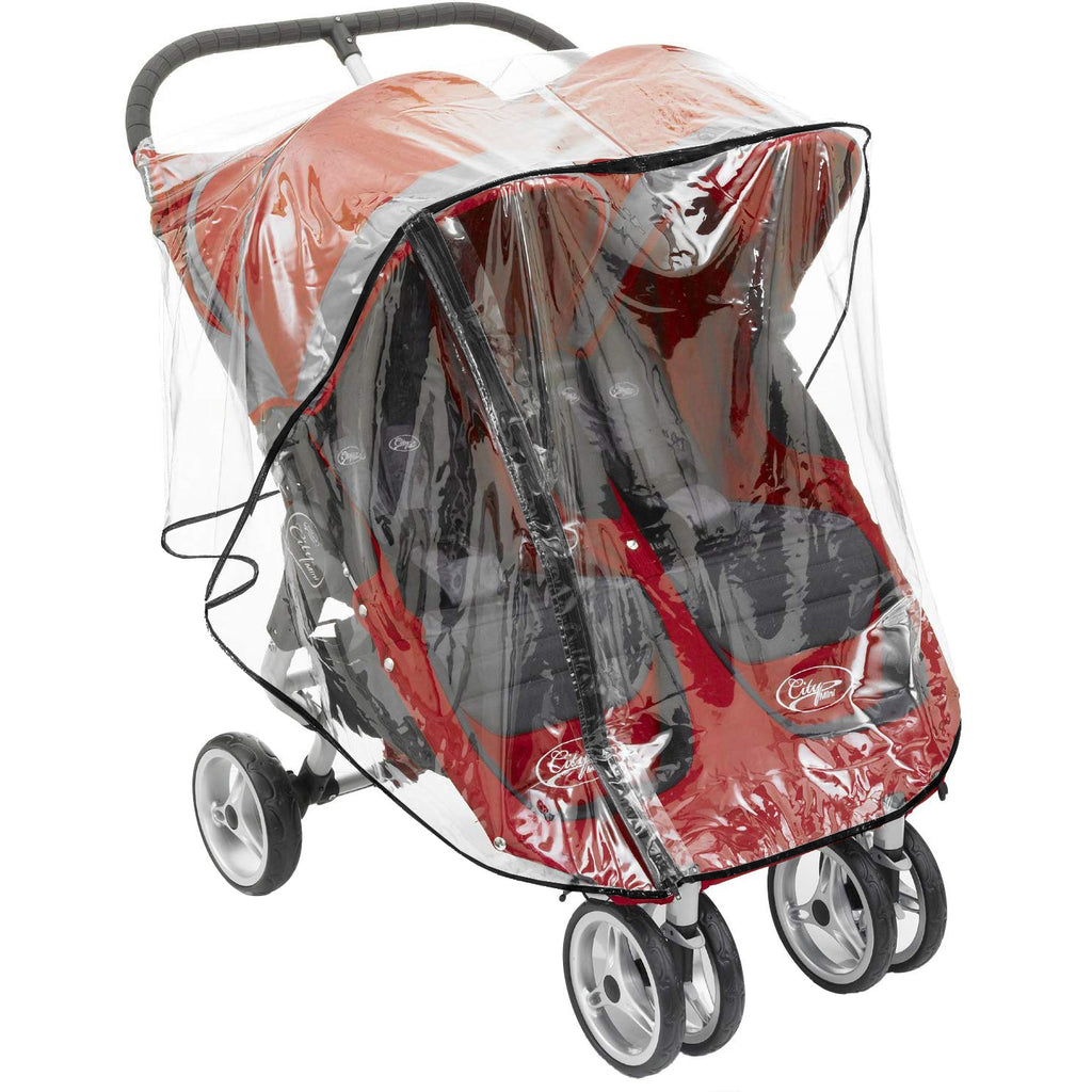 Heavy Duty New Rain Cover To fit Britax B-agile Double Pushchair