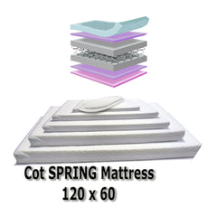 Baby Travel Mattress Spring Foam for Cot CotBed Swinging Crib Moses Basket - Baby Travel UK  - 4