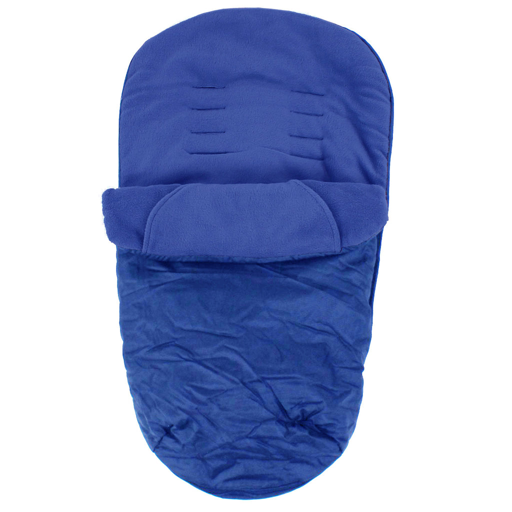Deluxe Universal Footmuff to fit Britax B-Dual - Navy - Baby Travel UK  - 1